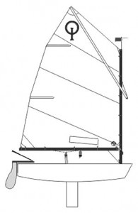 optimist_dinghy_drawing