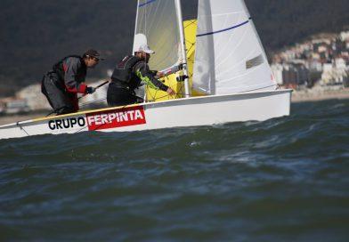 Dupla do CNBB Filipe Neto e Jorge Paula (Ferpinta Sailing team) prepara campeonato do mundo