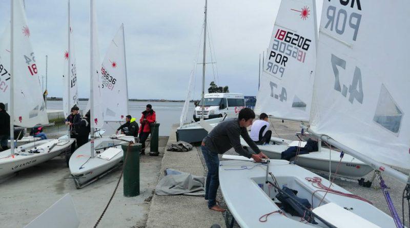 CNBB Domina Prova de Apuramento Região Norte em vela na classe Laser